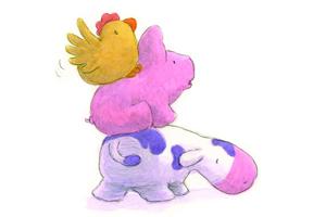 Chicken-Pig-Cow