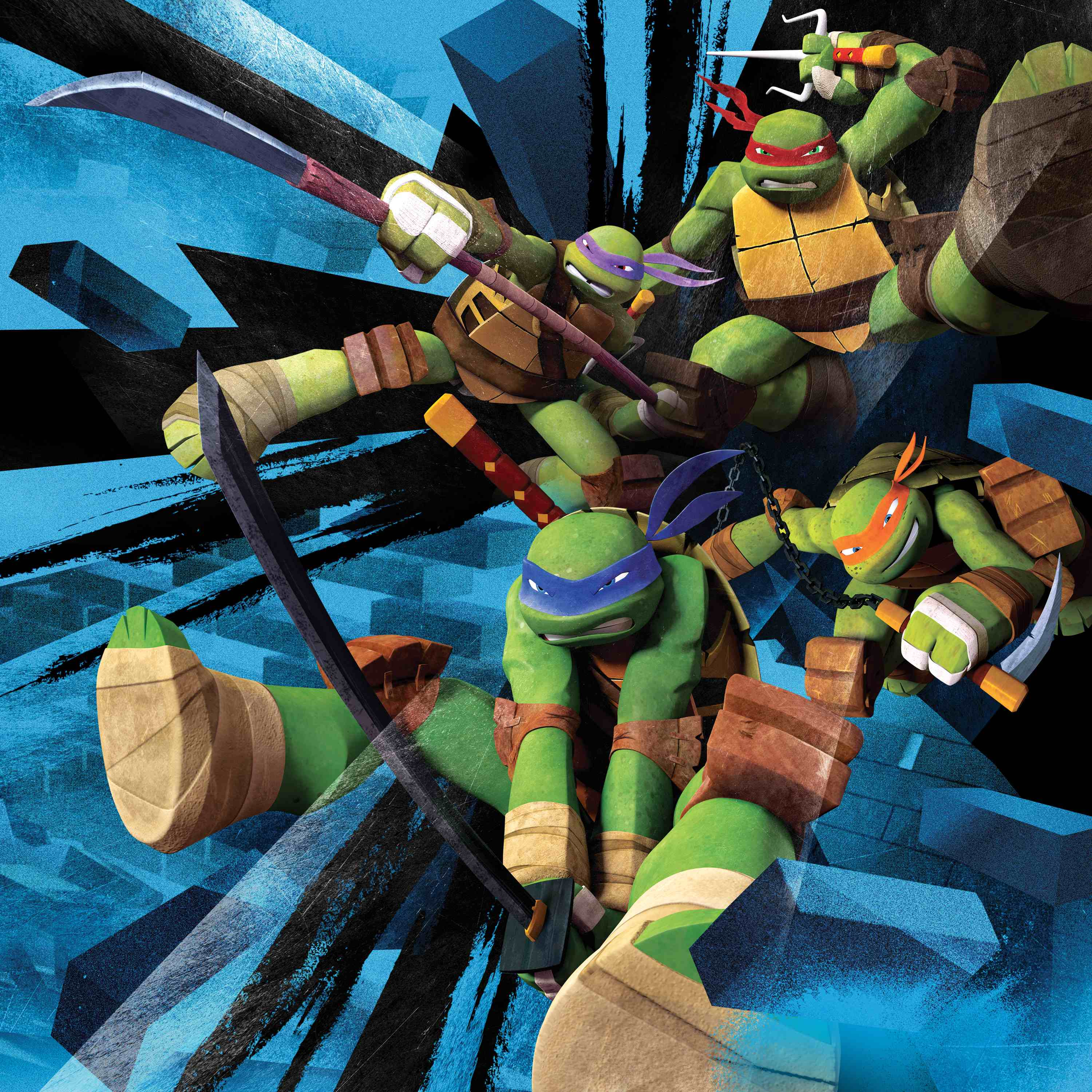 TMNT on Nickelodeon