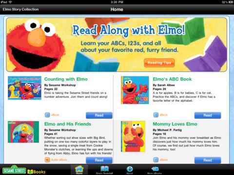 elmo storybook app