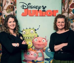 Author Niamh Sharkey (left) and Disney's Beth Gardiner (right)