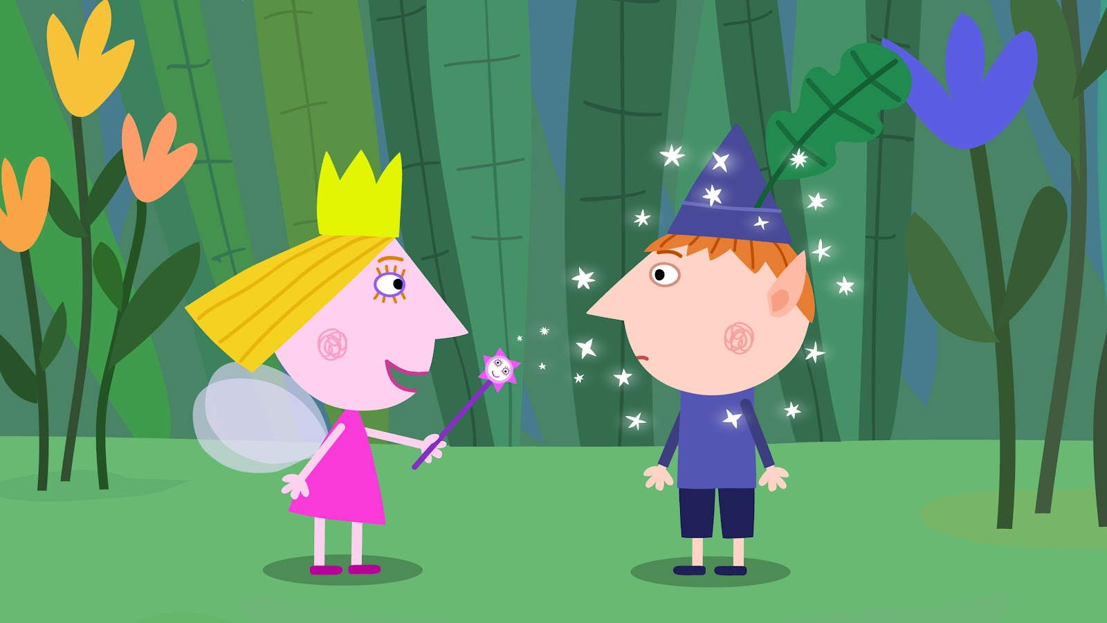ben and holly games please