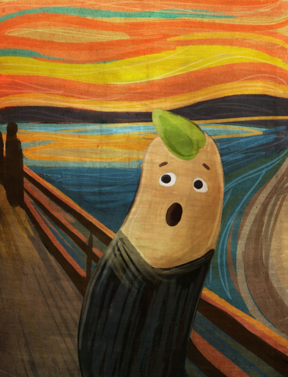Scream Potato