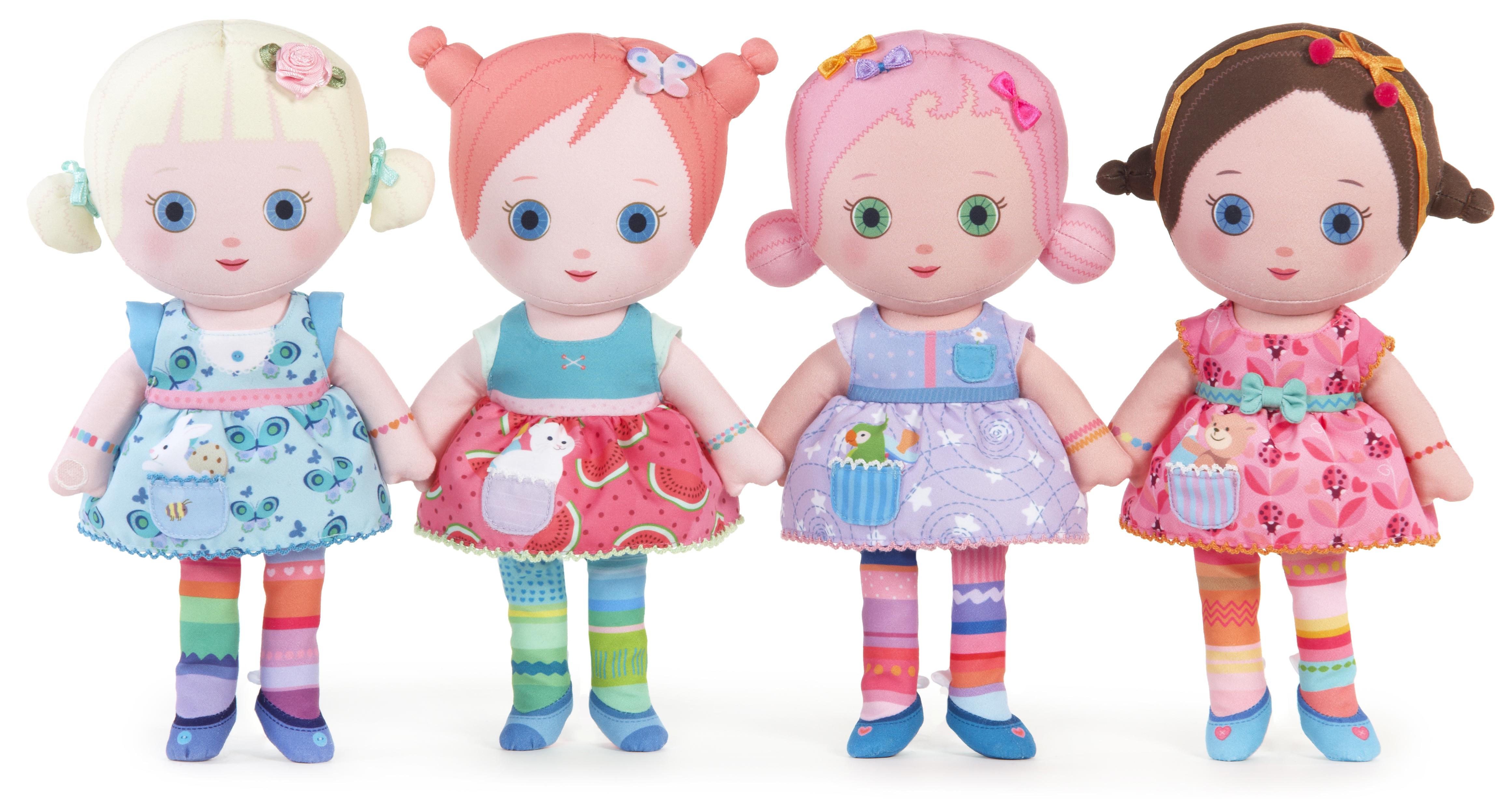 Mooshka Tots Doll Asst