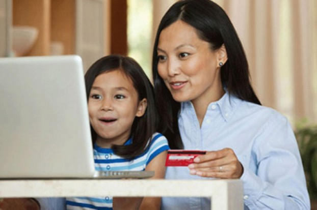 Mom-Laptop