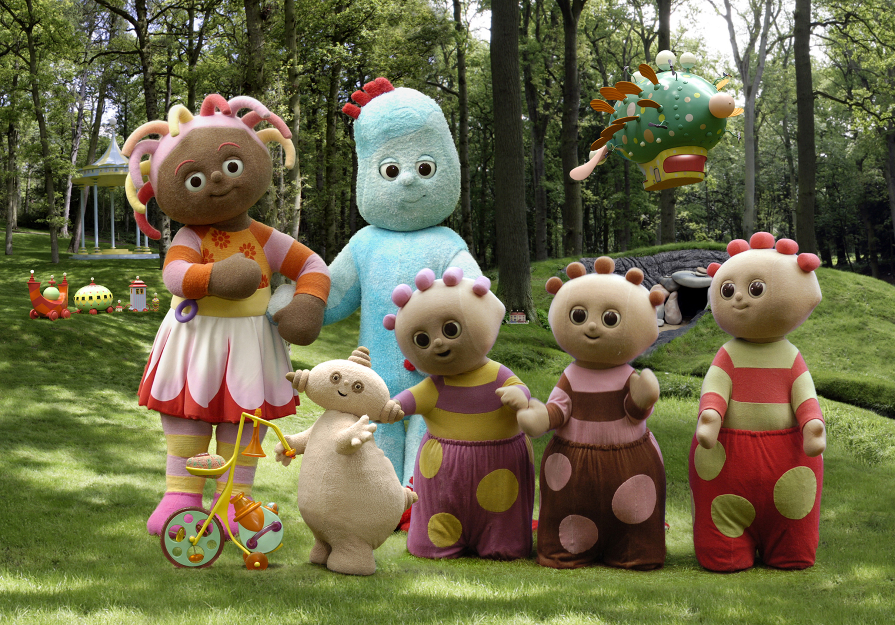 Cbeebies stays in the night garden for another seven years kidscreen for A night at the garden