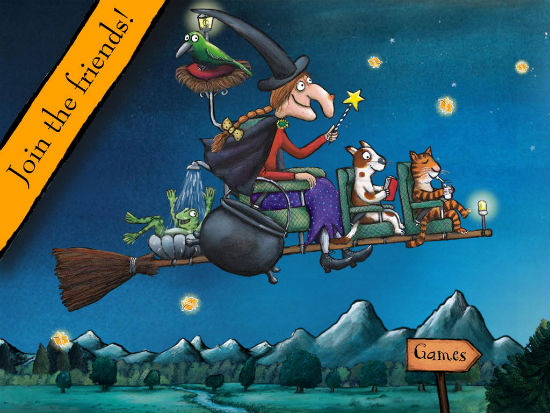 room on the broom games