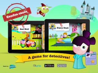 Imira Entertainment Sandra Fairytale Detective APP
