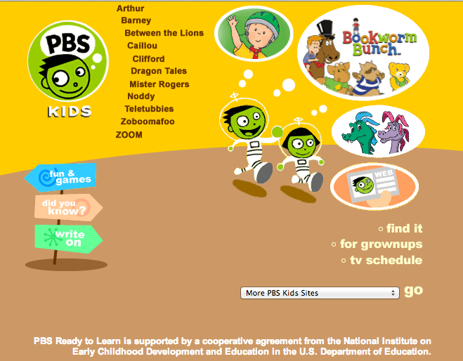 Pbs Game Kids
