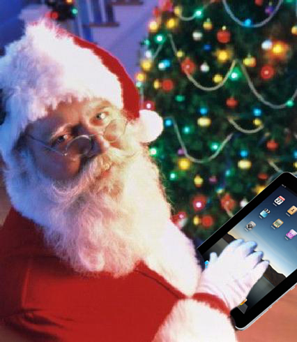 Santa-Ipad-Tree