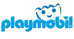 PLAYMOBIL Logo Blau mit Kopf