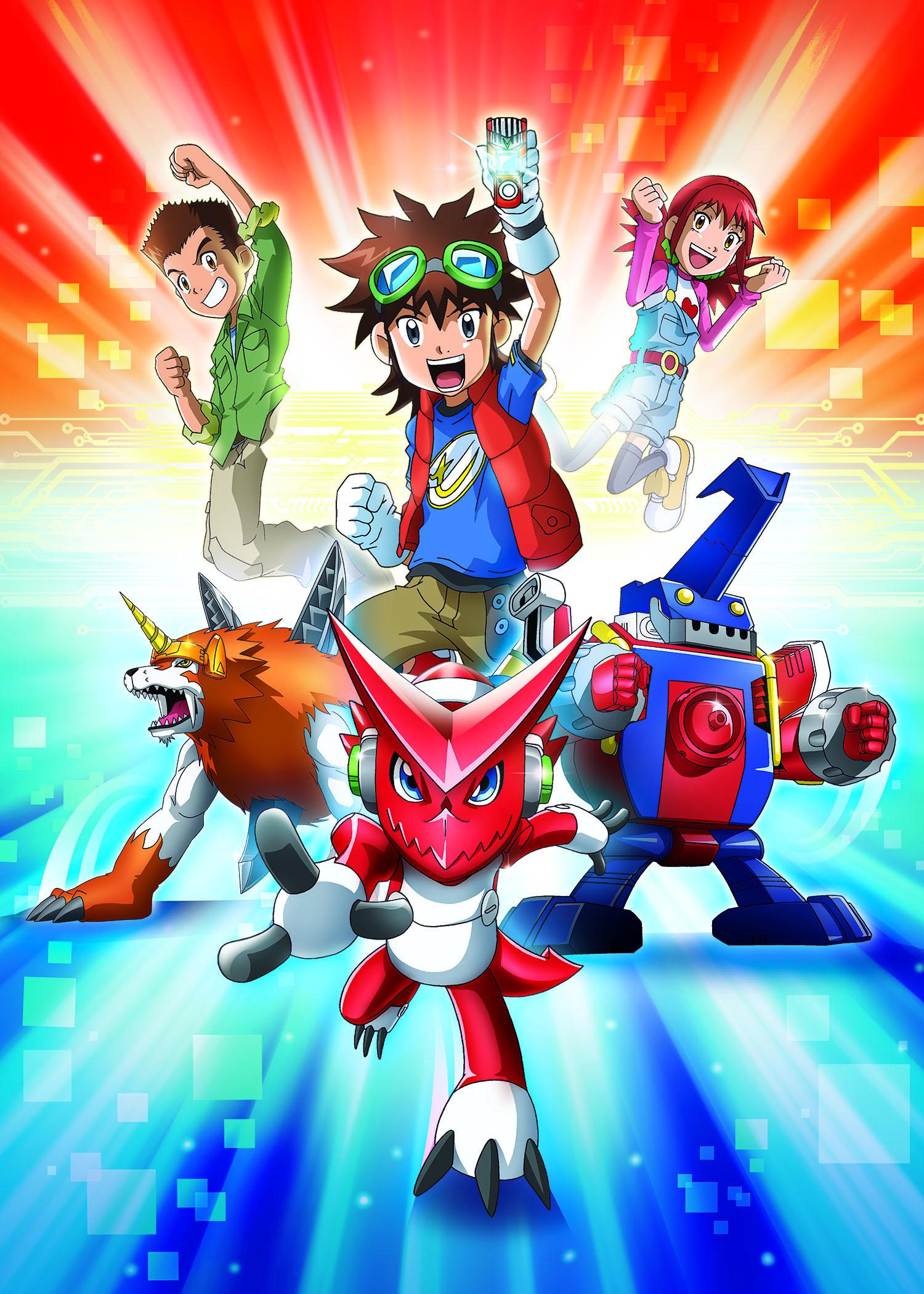 Digimon Fusion Heads To Spain 187 Kidscreen