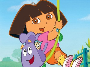Dora The ExplorerBackpack Parade