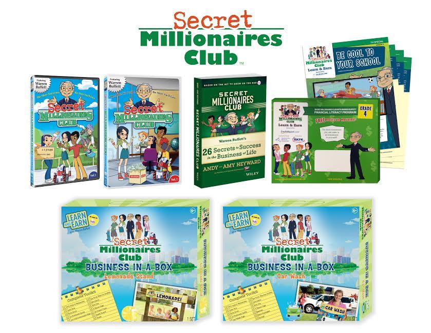 secret millionaires club