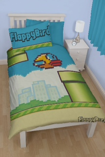 FlappyBird single panel duvet