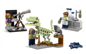 Lego Research Institute Set - Not Final Product