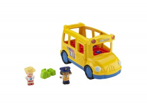 Little People Lil Movers School Bus (BGC58) (1)