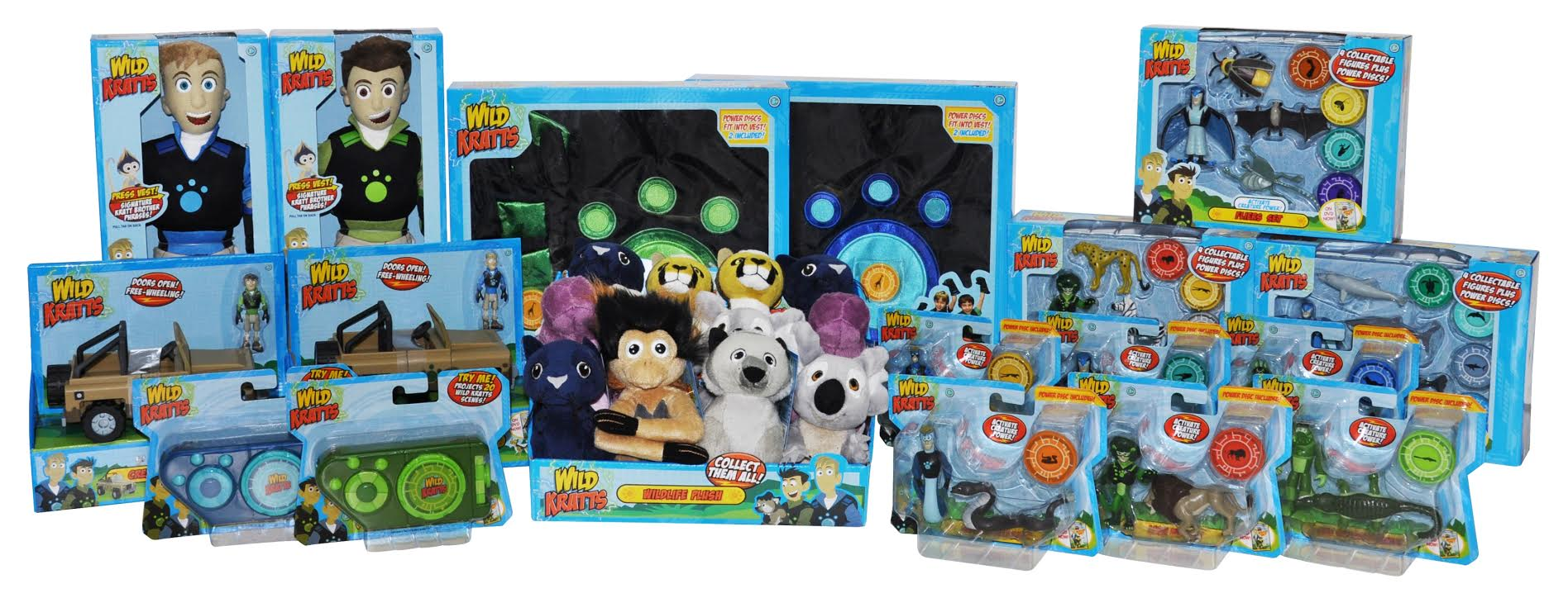 Wild Kratts toy line