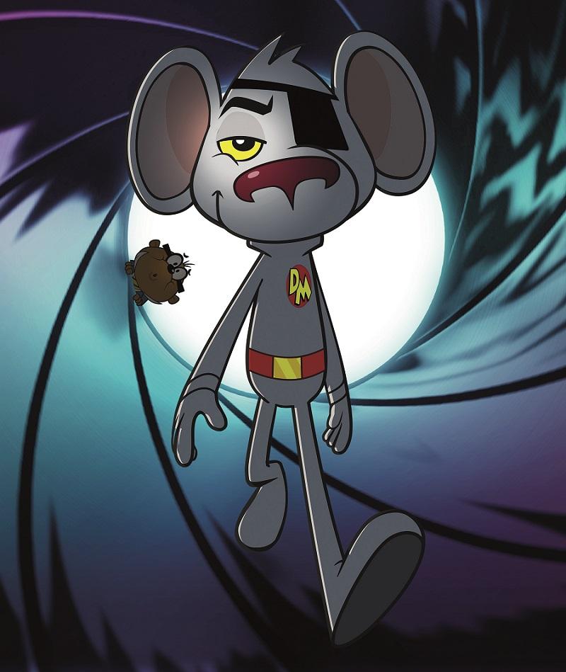 Danger Mouse Key Art