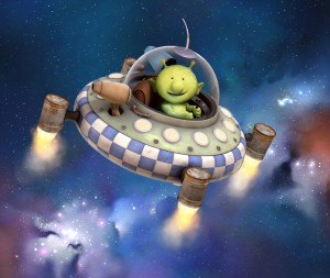 Pootle Flying Space