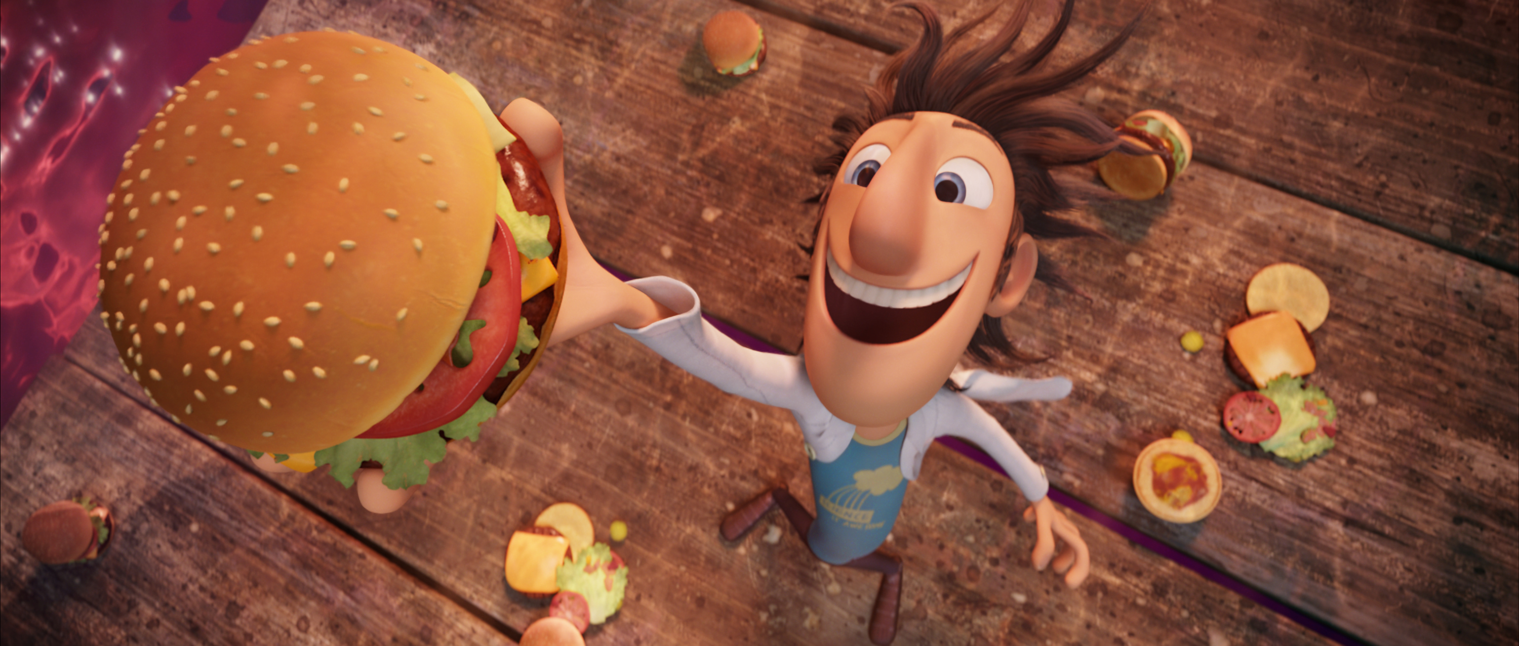 Cloudy with  a Chance of Meatballs Main Image