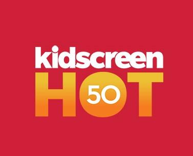 Kidscreen Hot50 logo 2014