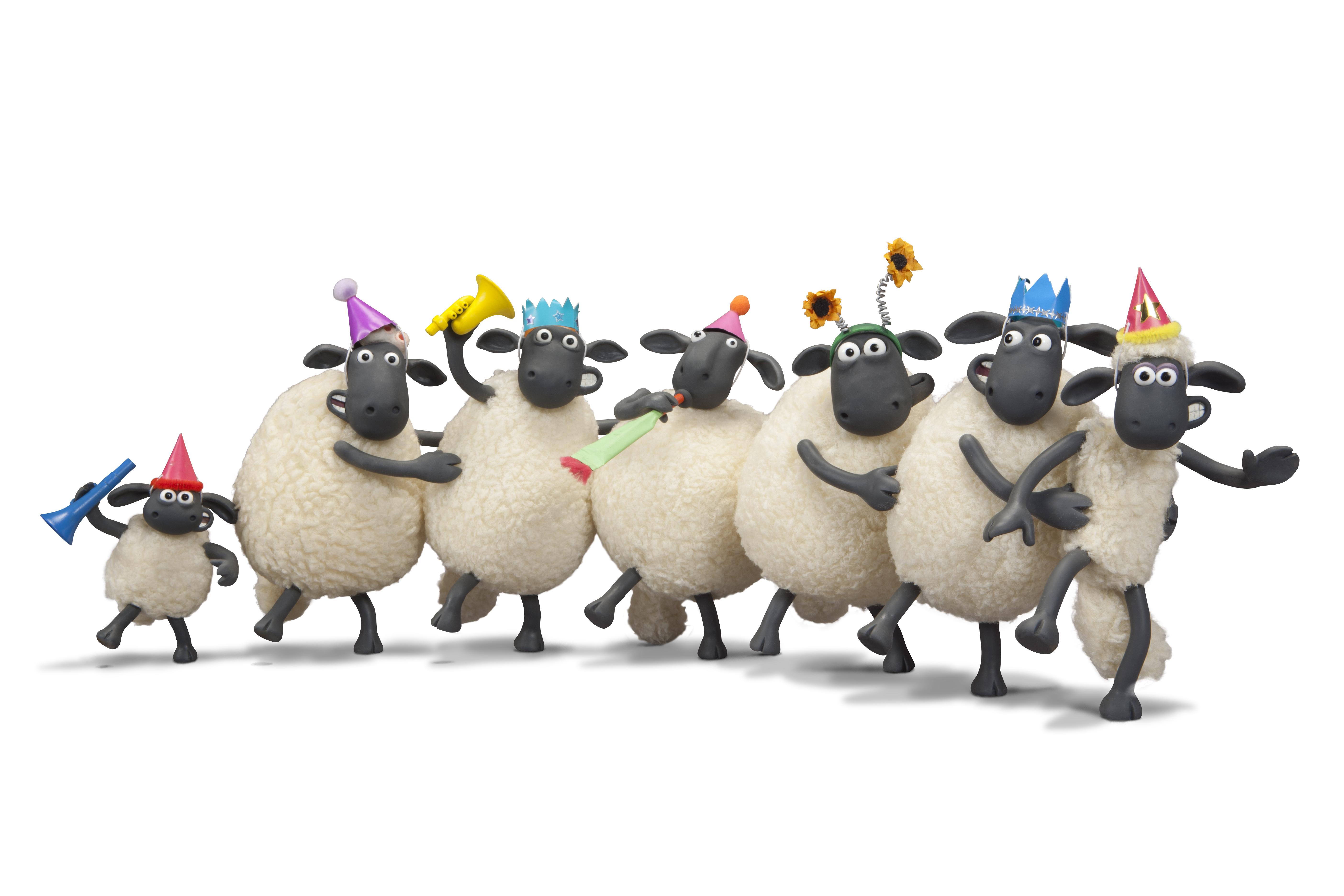 Shaun the Sheep Toys : 年賀状 テキスト : 年賀状