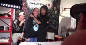 Scene Awesomness Teala-Signing1