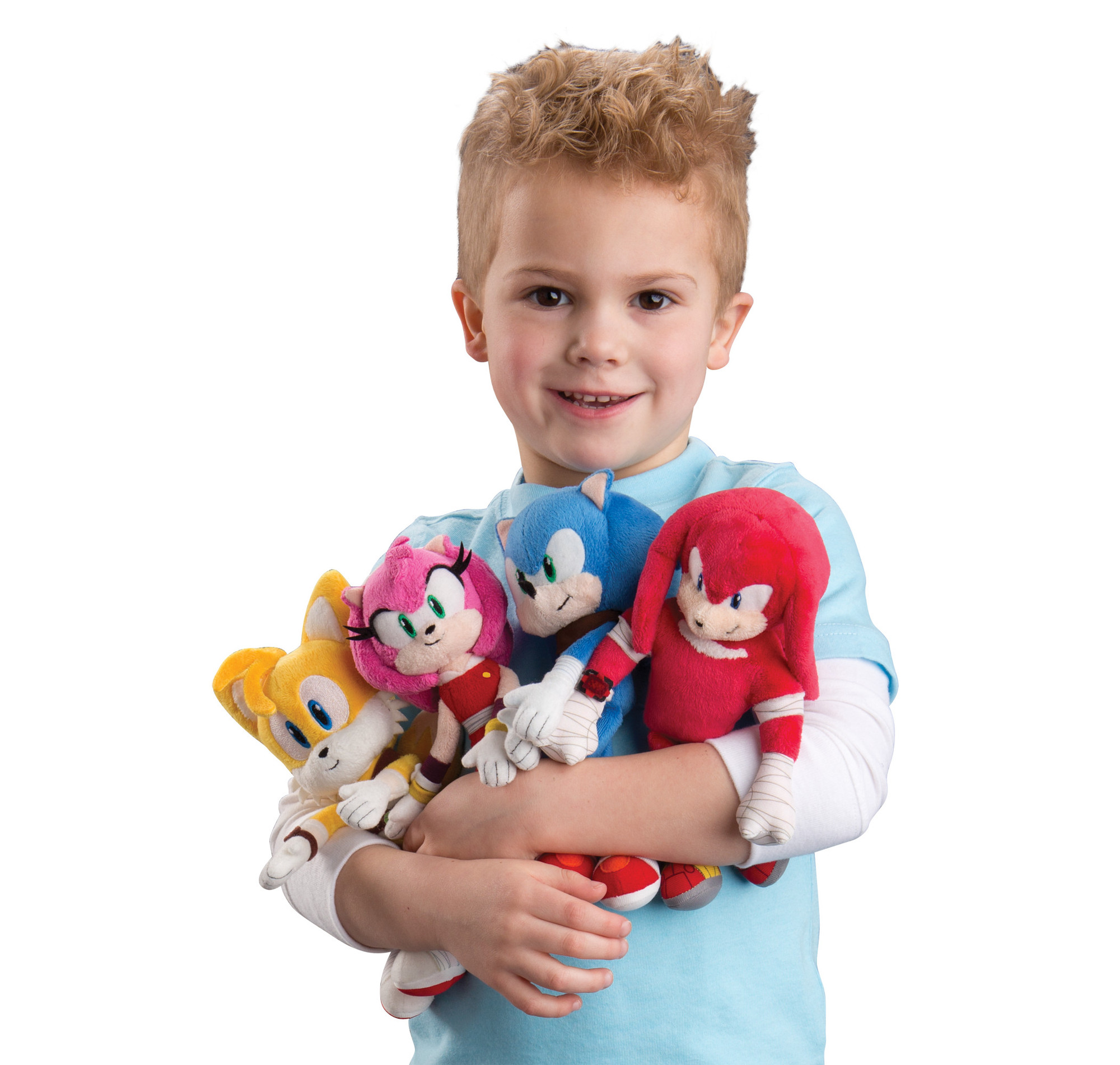 T22301; T22302; T22303; T22304; Sonic, Tails, Knuckles, Amy