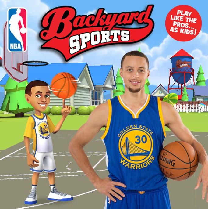Charmant Stephen Curry Backyard Sports NBA Image 12_10_14