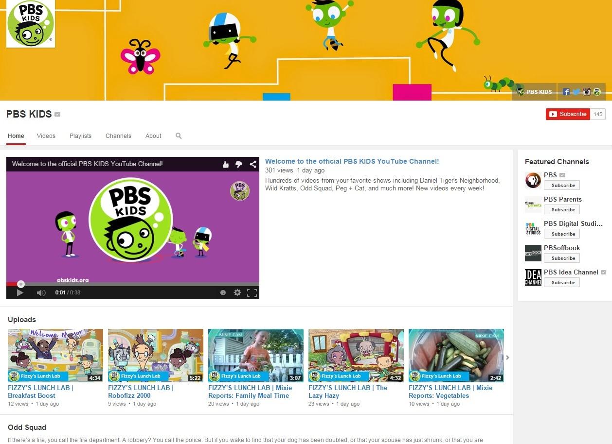 PBS KIDS YouTube
