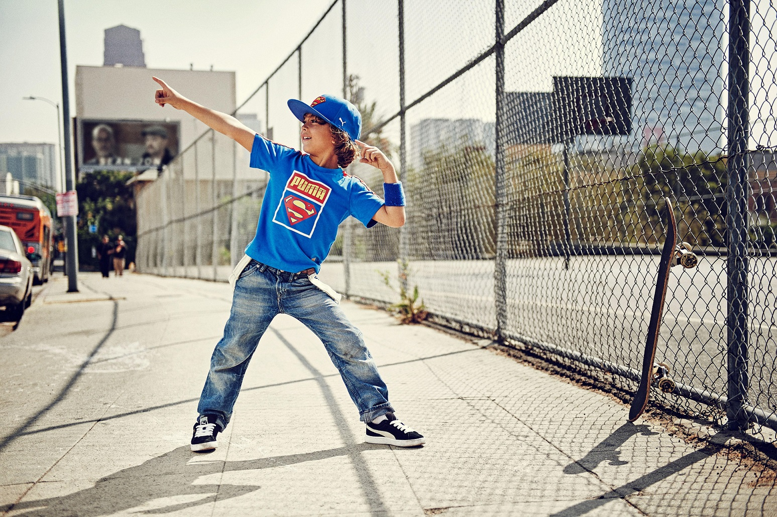 Puma Superman Tee and Cap1