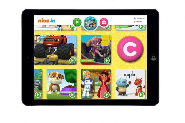 nick_app_press lobby shot in ipad (2)