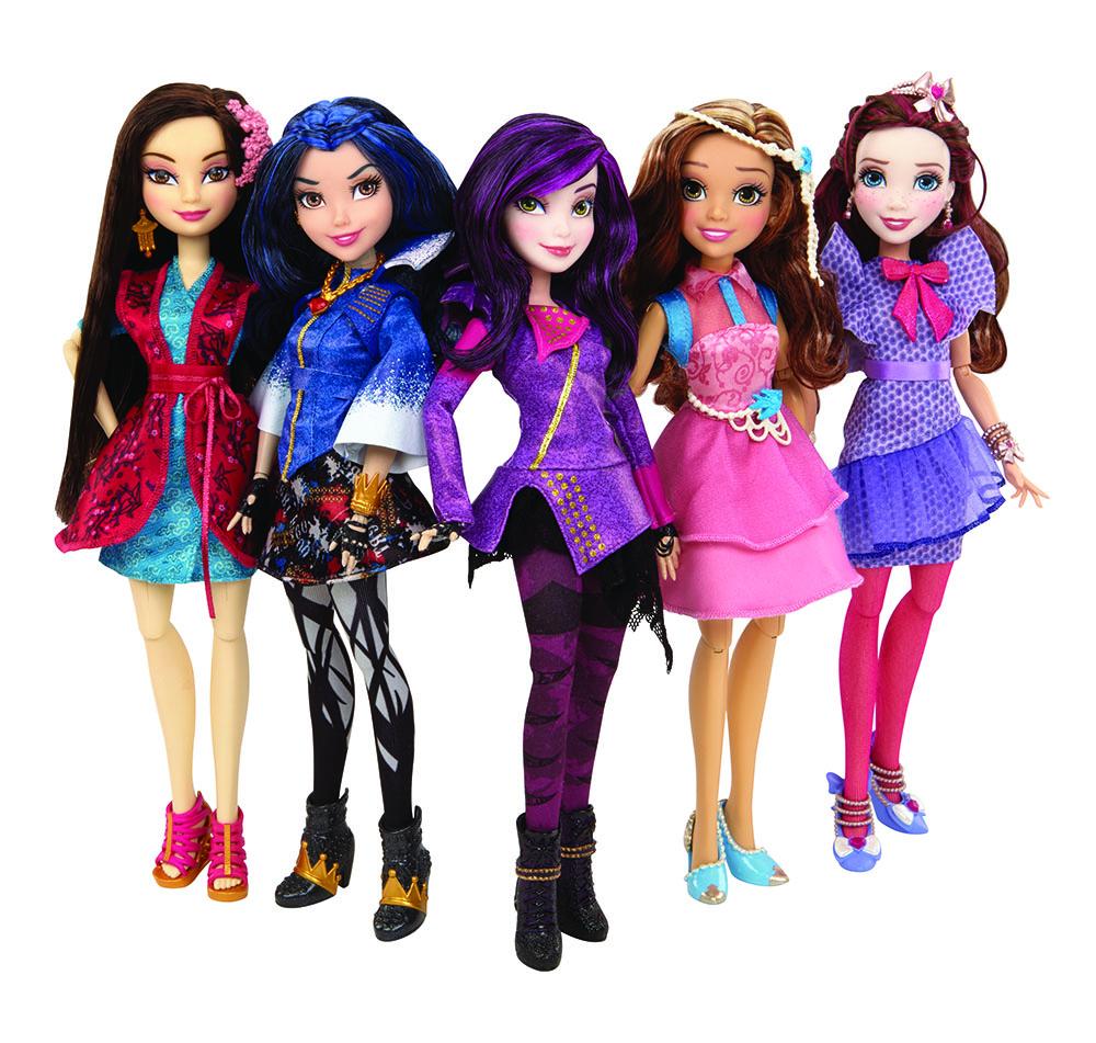 Kidscreen Archive Hasbro Dcp Doll Up Descendants Toy Line