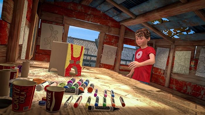 Playworld Superheroes Crafting