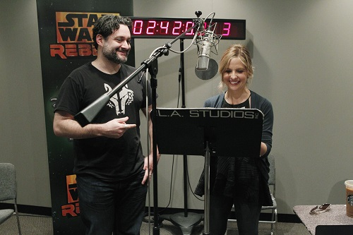 "DAVE FILONI (CREATOR AND EXECUTIVE PRODUCER, ""STAR WARS REBELS""), SARAH MICHELLE GELLAR"