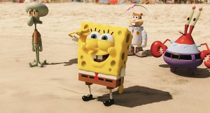 SpongeBob SquarePants, the world's favorite sea dwelling invertebrate, comes ashore to our world for his most super-heroic adventure yet in SPONGEBOB: SPONGE OUT OF WATER, from Paramount Pictures and Nickelodeon Movies.