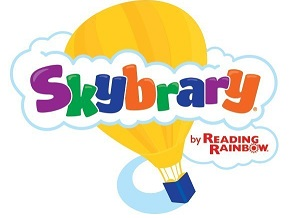Reading Rainbow - SKYBRARY  Logo