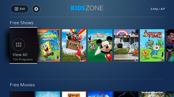 Kidscreen Archive Comcast Unveils Kids Zone