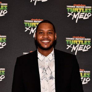 NBA Superstar Carmelo Anthony To Head Teenage Mutant Ninja Turtle Product Line