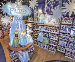 Disney Store Times Square setups