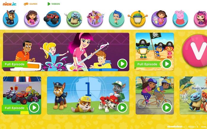 nickjr com preschool games nick jr site gets a redesign debuts new preschool series 661