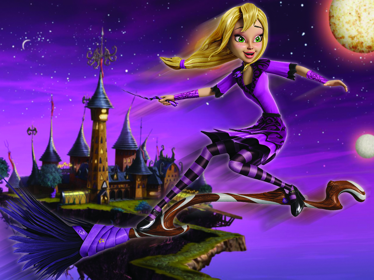 The witch teenage animated exclusive photo