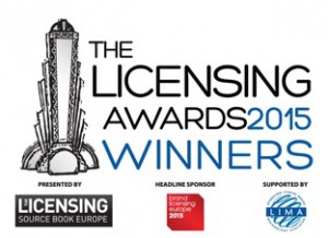 Licensing Awards WINNERS logo 2015