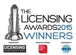 Licensing Awards WINNERS logo 2015