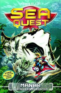 Sea Quest Book Jacket