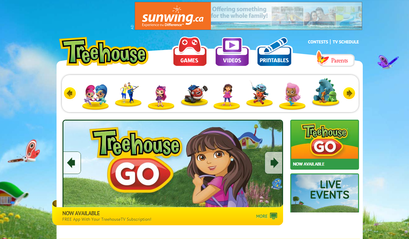 Kidscreen archive corus reveals charter sponsors for for Direct tv fishing channel