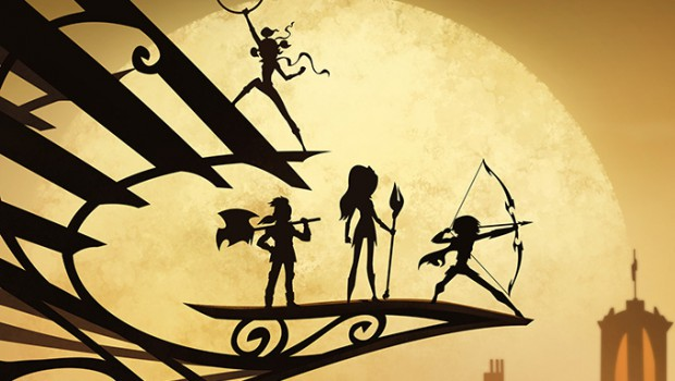 Originally conceived as a boys action property, Nelvana has retooled Mysticons to appeal to girls with four leading female characters.