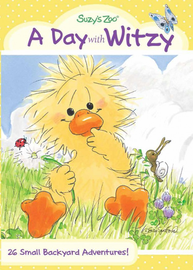 Suzy's Zoo A Day With Witzy DVD Cover