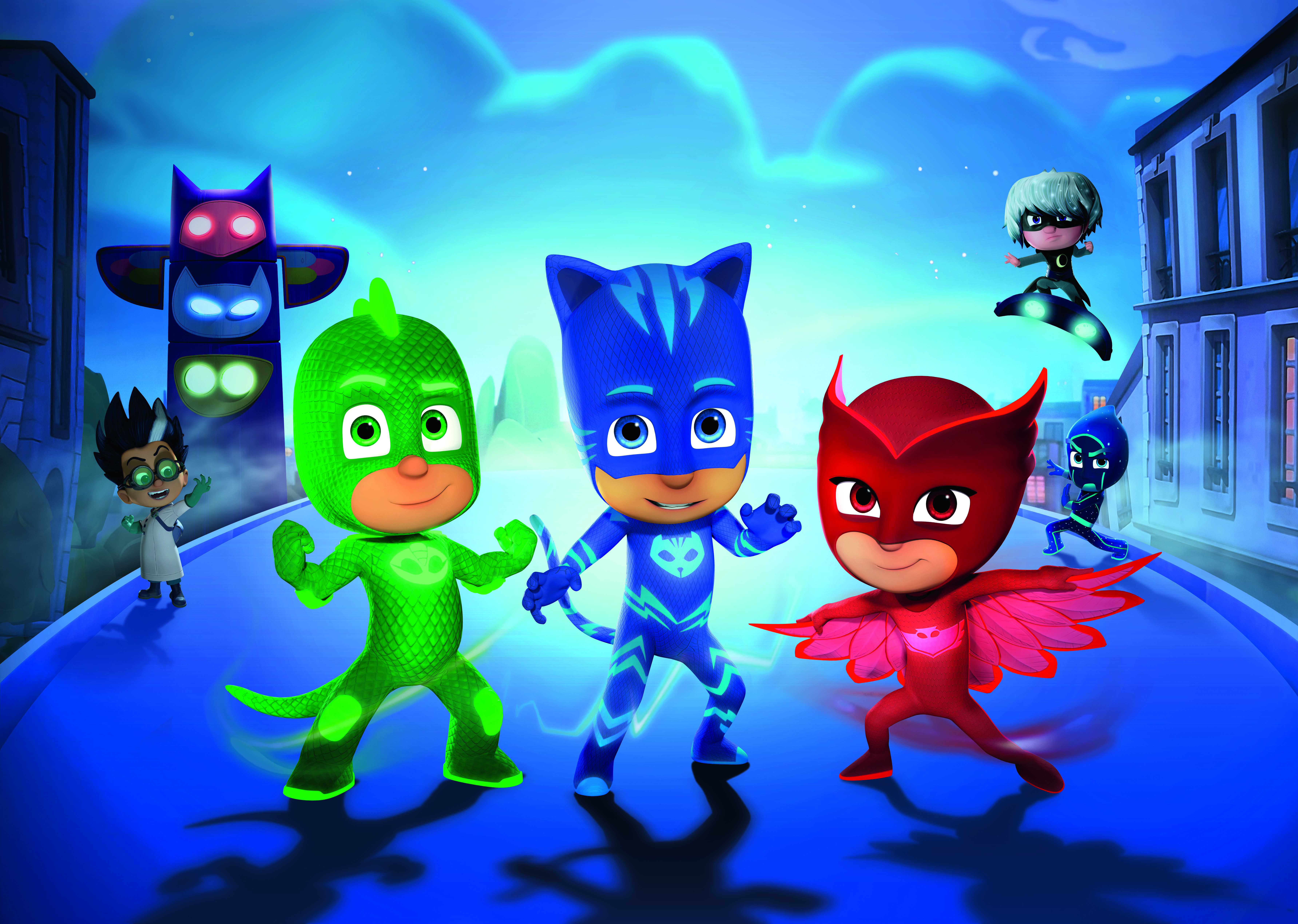 kidscreen archive eone lands master toy partner for pj masks
