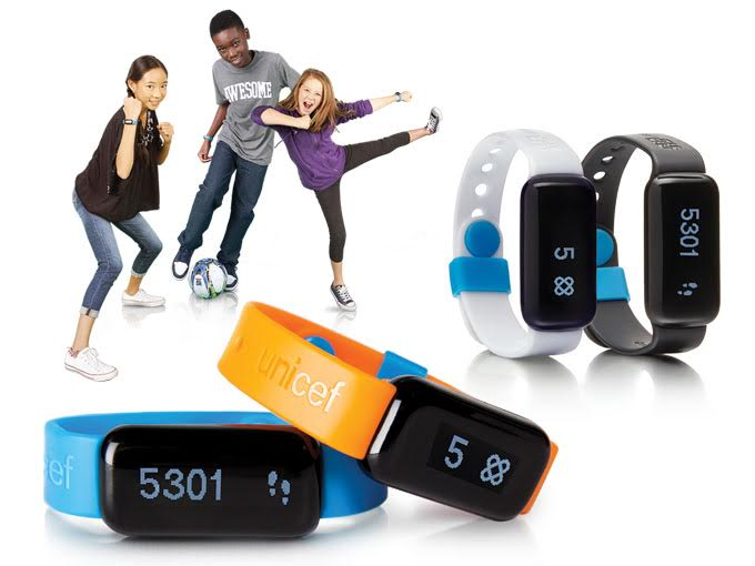 Wearable meets charitable in UNICEF's Kid Power initiative